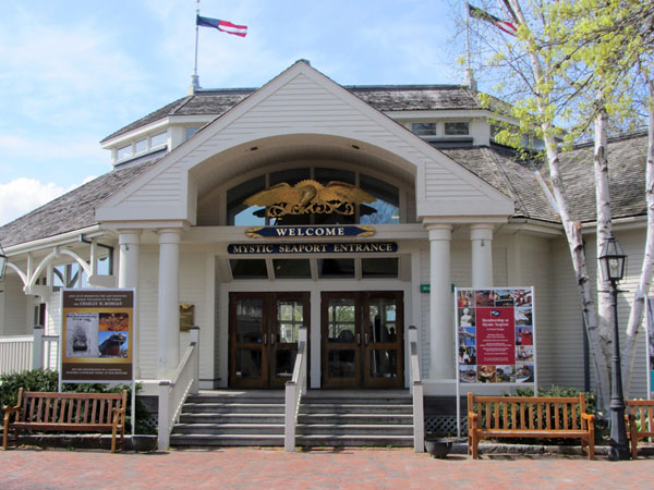 Mystic Seaport Museum entrance