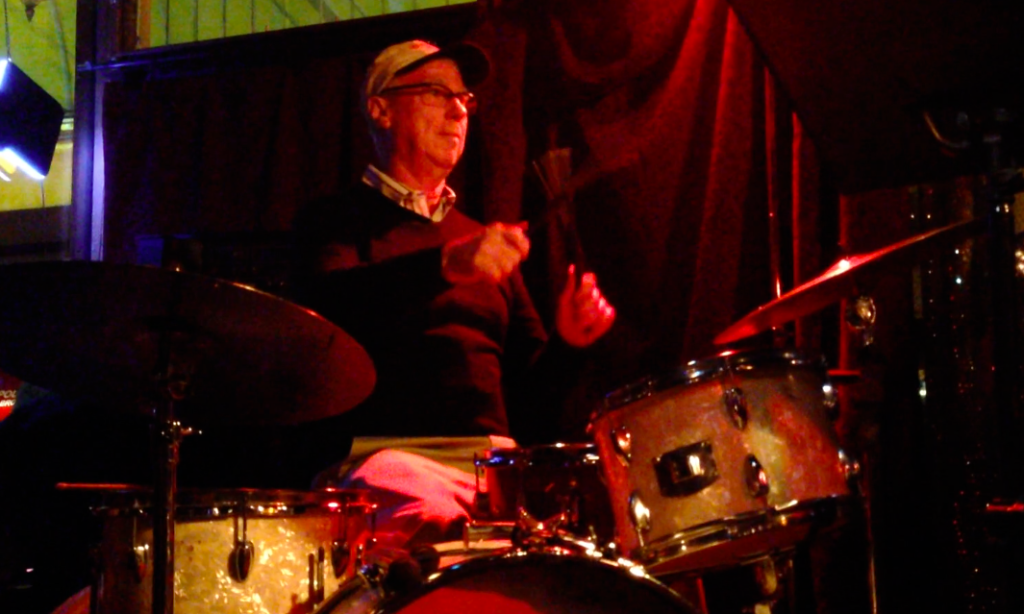 Ron Holland on drums