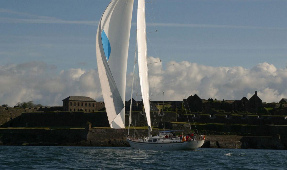 Boo Too ninety foot fast cruising yacht