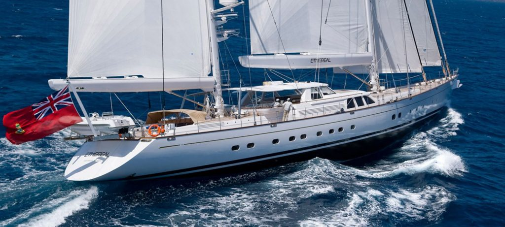 Ethereal Sailing Yacht 190 foot performance ketch Ron Holland Design