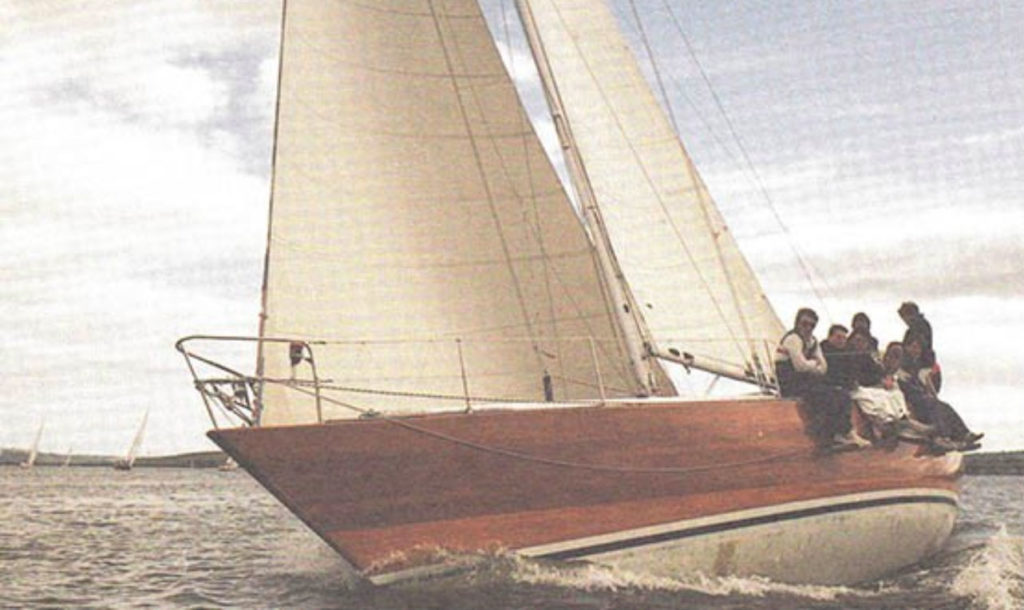 Irish Mist II Archie O'Leary owner of the Ron Holland Design one ton