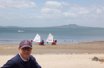 Ron Holland at Torbay New Zealand