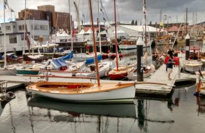 At the harbour , Hobart Wooden Boat Festival February 2017 Tasmania Australia