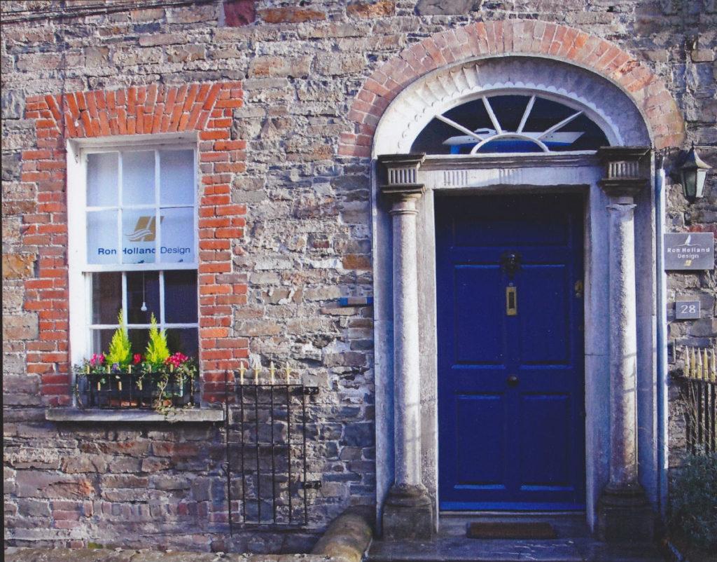 Street view of Ron Holland Design office, Cork Ireland 30 years ago