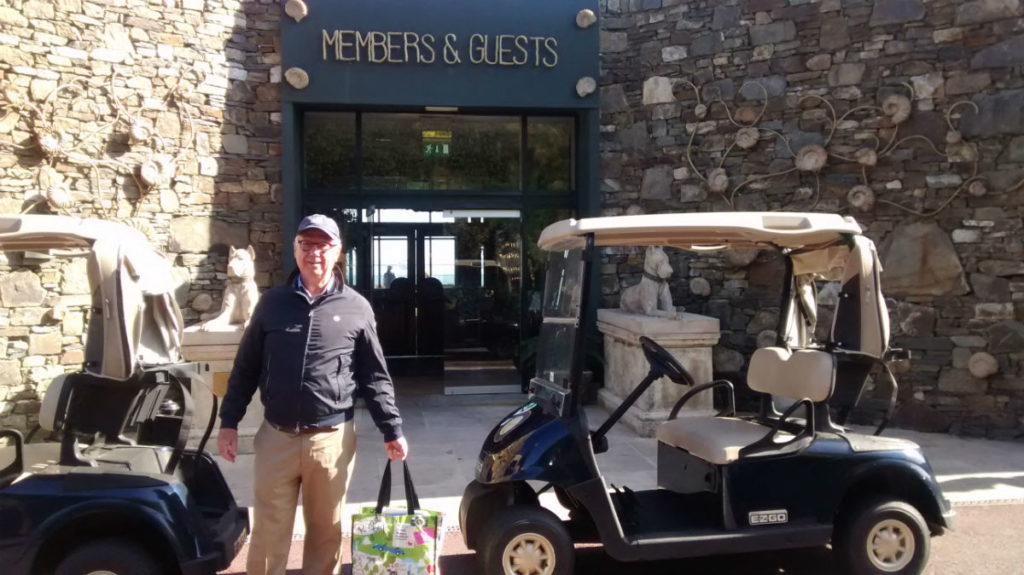 Ron Holland visits The Old Head Golf Links in Kinsale Ireland