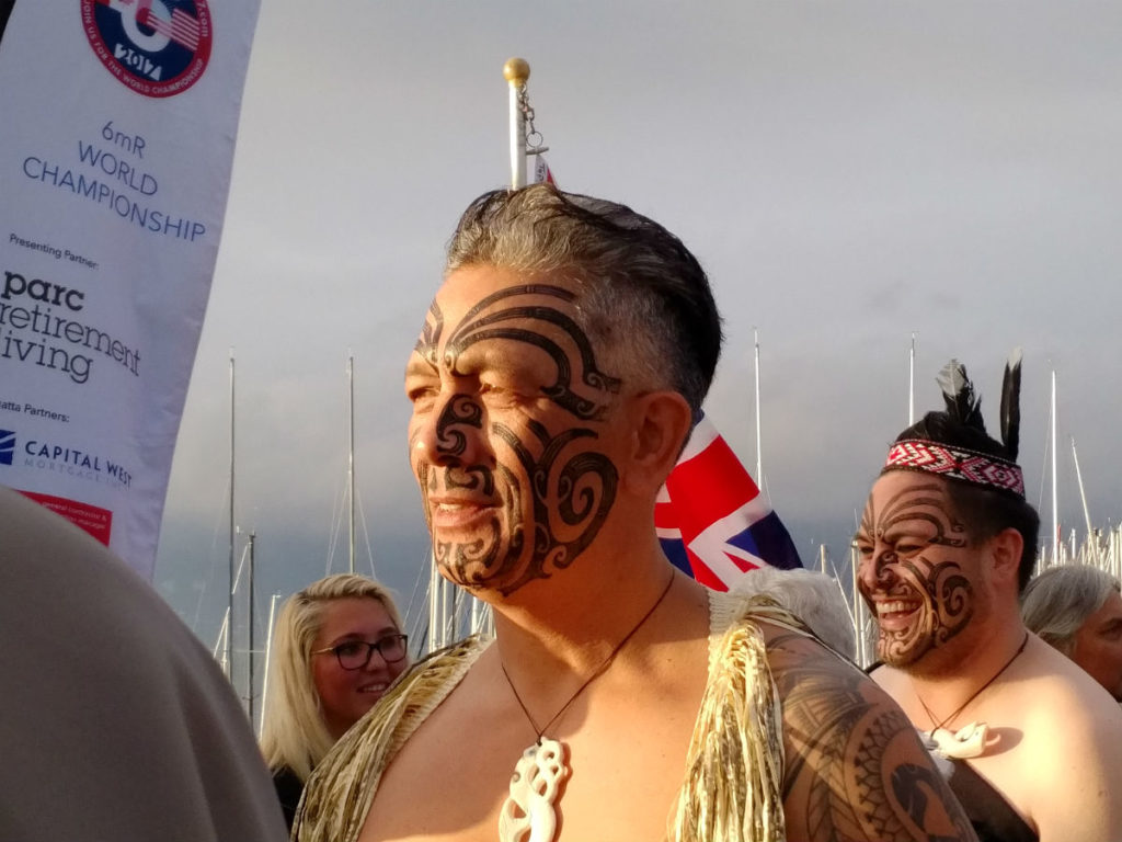 Maori dancers perform Haka tradition for Opening Ceremony 6 M Worlds Vancouver 2017