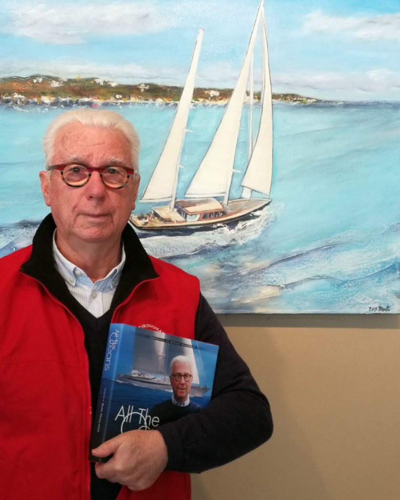 Yacht Designer and Author Ron Holland presents All The Oceans at West Vancouver Yacht Club