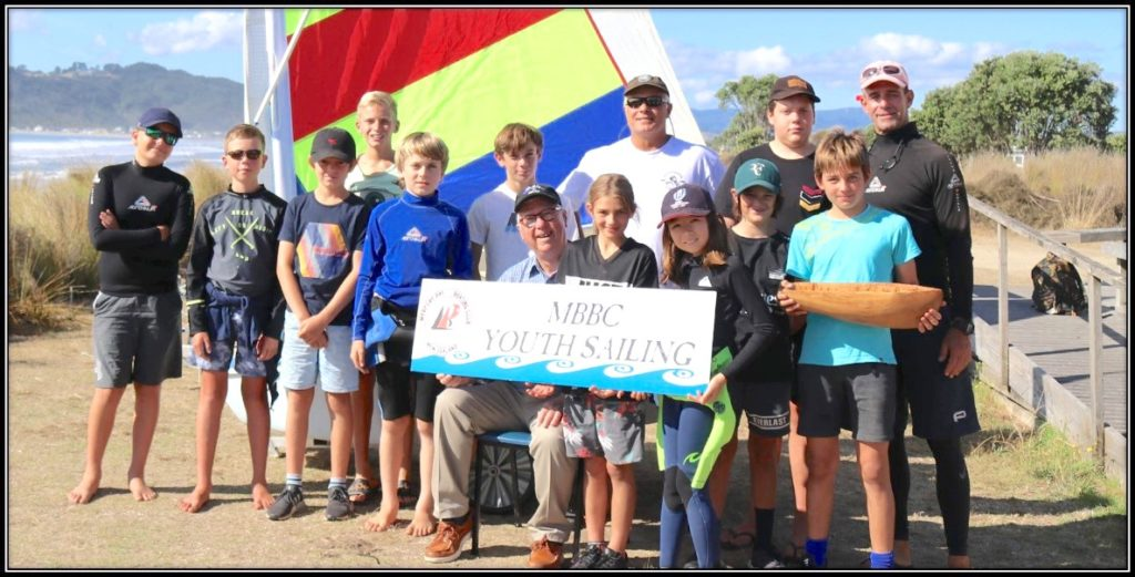 Mercury Bay Boating Club Junior Sailing with Ron Holland in Whitianga New Zealand