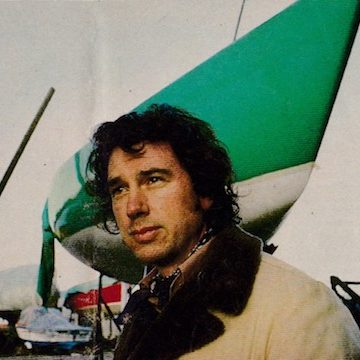 """Ron Holland of Ron Holland Design at the launch of sailing yacht """"Golden Shamrock"""" lead photo for news article"""