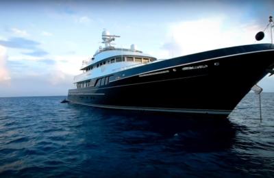"Dorothea III motor yacht winner of 2020 World Superyacht Awards ""Voyager Award"" designed by Ron Holland Design"